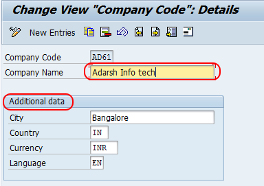 Create New companies by copying Existing Company code