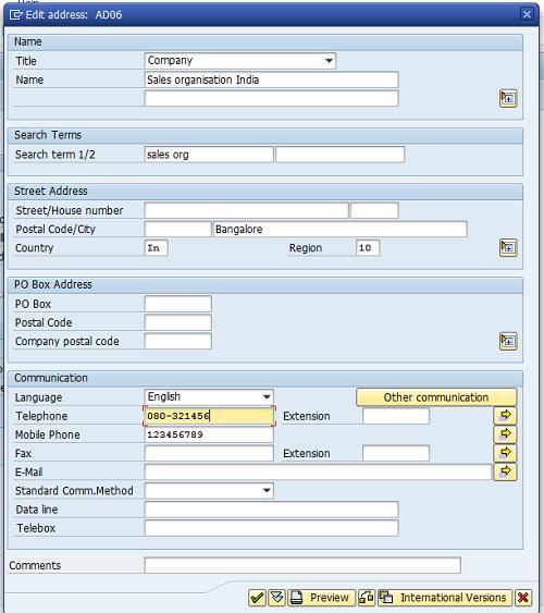 Define Sales Organization | Create sales Organization SAP SD