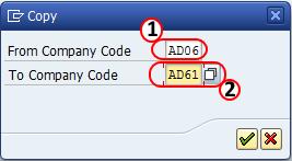 copy company codes