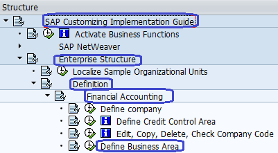 Define Business Area in SAP FICO   How to Create Business Area in SAP