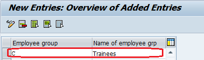 Define Employee Group and Employee Subgroup