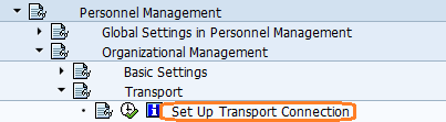 set up pd transport connection - OOCR
