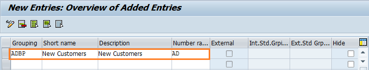 How to Define groupings and Assign number ranges