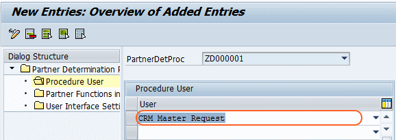 crm master request