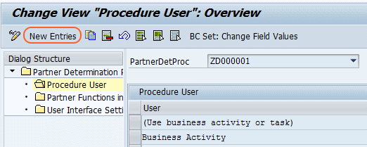 procedure user overview