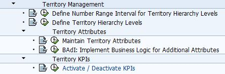 Activate and Deactivate KPIs SAP IMG Path