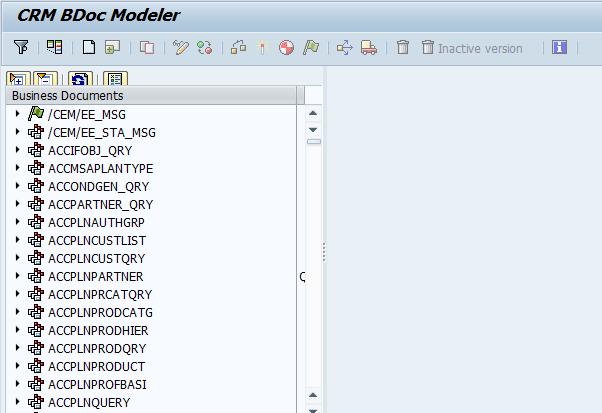 CRM BDocs Modeler