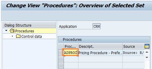 How to create pricing procedure in SAP CRM
