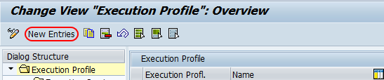 execution profile overview