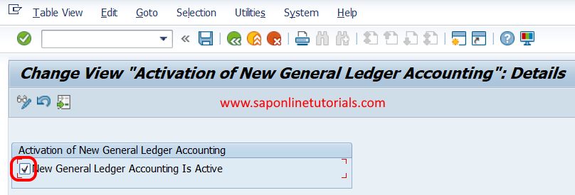 Activate New General Ledger Accounting in SAP FICO