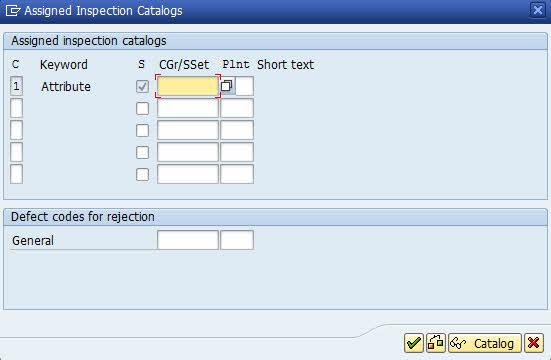 inspection catalog qs21